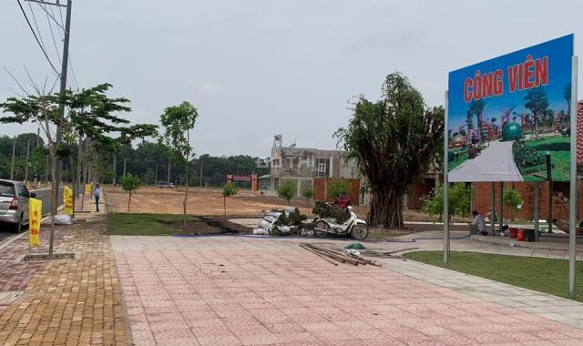 Cần bán gấp lô đất 100m2 nằm ngay mặt tiền đường Mỹ Phước Tân Vạn, SH riêng