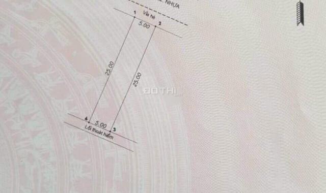 Bán đất đường N22 KDC Bicosi Tân bình Dĩ An Bình Dương DT 5x25m SHR, TC 100%