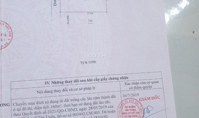 Đất 670m2 ngang 18m Tân Phước Khánh, Tân Uyên, Bình Dương