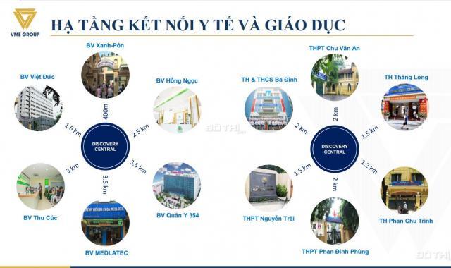 Bán căn hộ CH01 dự án Discovery Central Trần Phú diện tích 157.8m2 giá chỉ 10 tỷ. LH 0974602525