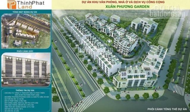 Tổng hợp các căn chuyển nhượng tại dự án shophouse đường Trịnh Văn Bô. Liên hệ 0913633303