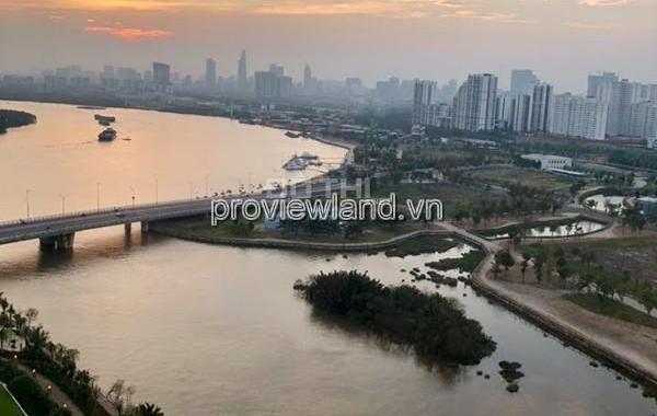 Căn hộ Diamond Island 3PN, 120m2 nội thất đã được bày trí, view sông