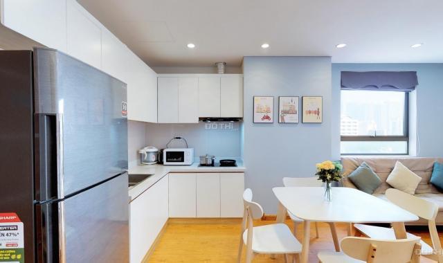 Cho thuê căn hộ chung cư tại dự án Cầu Giấy Center Point, Cầu Giấy, Hà Nội diện tích 76m2 giá 13tr