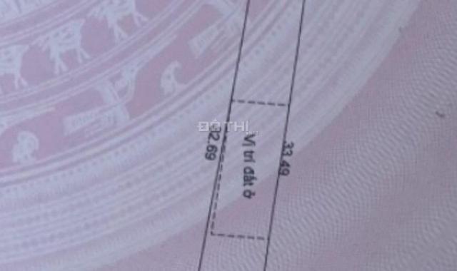 Chính chủ bán lô đất vị trí đẹp Ấp 1, xã Tóc Tiên, Thị Xã Phú Mỹ, BRVT 186m2