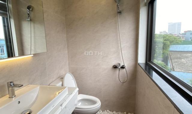Bán nhà mặt phố Đền Lừ 2, Mai Động 50m2x6T giá 10,7 tỷ, thang máy, kinh doanh tốt đi bộ ra hồ