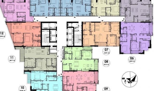 Bán căn hộ 2PN rẻ nhất dự án chung cư cao cấp Hateco Laroma, quận Đống Đa
