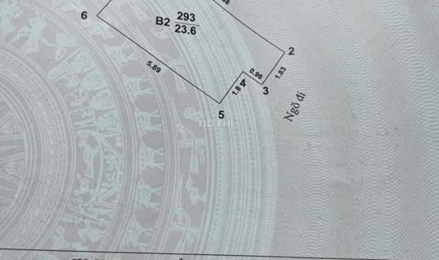 Nhà 24m2, 5.9m mặt tiền, mặt phố Ô Chợ Dừa lô góc, vỉa hè kinh doanh 16.5 tỷ