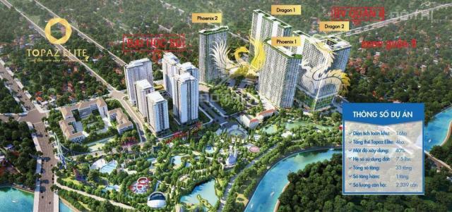 Bán căn hộ Topaz Elite 60m2, quận 8 ngay cầu chữ Y, giá 1,57 tỷ CĐT. LH: 0973 848 214