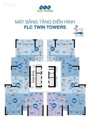 Bán gấp căn hộ 09, FLC Twin Towers, 116.1m2, giá 34 tr/m2