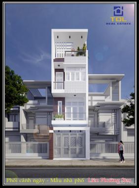 Nhà phố 2.5 lầu nằm ngay MT Liên Phường, giá 2,6 tỷ/căn, LH 0764734886