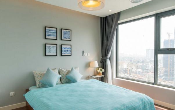 Cho thuê CHCC Times Tower căn góc tòa T2, tầng 20, 133m2, 3PN, nội thất đẹp. LH: 0965820086