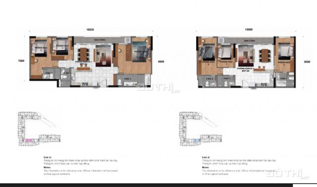 Căn hộ penthouse Jamila tặng phí quản lý 5 năm, chiết khấu 18%. DT 228m2, view Landmark 81