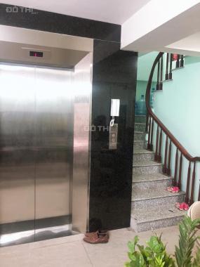 Bán tòa nhà văn phòng mặt ngõ gần Lê Trọng Tấn, ô tô tránh, 2 thoáng, 64m2, 7T, thang máy. 13 tỷ