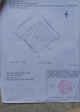 Bán đất vip 870m2 trung tâm thành phố Tam Kỳ