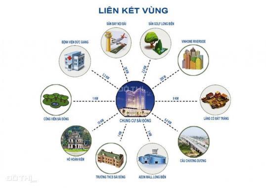 Bán căn hộ chung cư khu đô thị Sài Đồng, Long Biên, Hà Nội, diện tích 87m2, giá 26 triệu/m2
