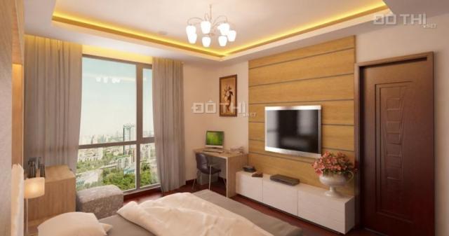Chính chủ bán căn hộ chung cư khu C-13 nhà ở của cán bộ quân đội, ban công view Hồ Định Công