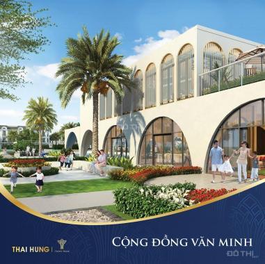 Độc quyền phân phối dự án KĐT 5* Crown Villas - Thái Hưng. LH: 0943189444