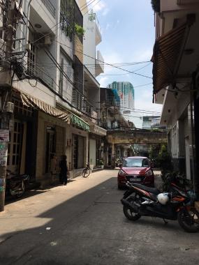 Bán nhà 2 mặt tiền, 4x15m, hẻm 144 Phạm Văn Chí, Q. 6