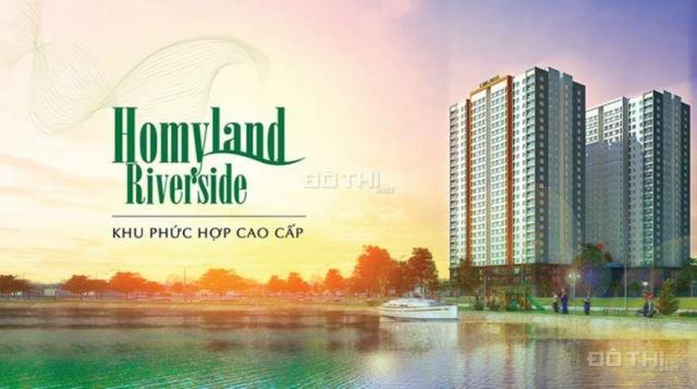 Cần bán 10 căn Officetel Homyland Riverside. Giá chỉ từ 24tr/m2. LH: 0917479095