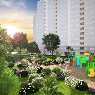 Căn hộ Green Town Bình Tân 2 PN giá 1,5 tỷ đã VAT, 63m2 view mặt tiền đường 30m, giao nhà cuối 2019