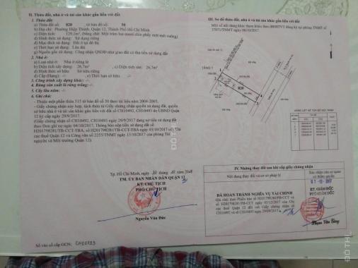 Tôi chính chủ cần bán lô đất dự án ở đường Trần Thị Do