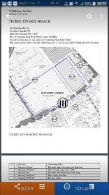 Bán dự án xây dựng căn hộ chung cư cao tầng phường Hiệp Bình Phước, quận Thủ Đức, DT 5,1 ha