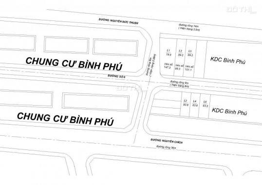 Mở bán 6 lô đất gần biển thuộc khu dân cư Bình Phú, Nha Trang, sổ hồng 2019