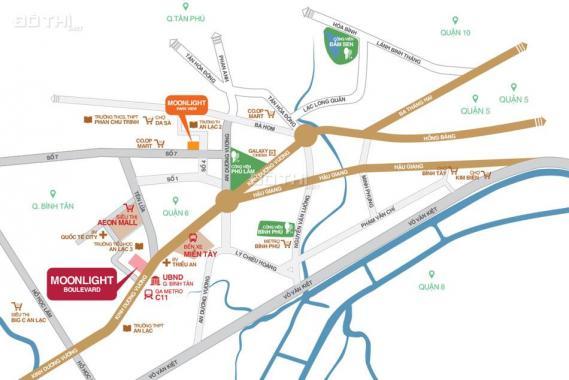 Cần bán gấp căn hộ Boulevard, liền kề Aeon Mall, Quận Bình Tân