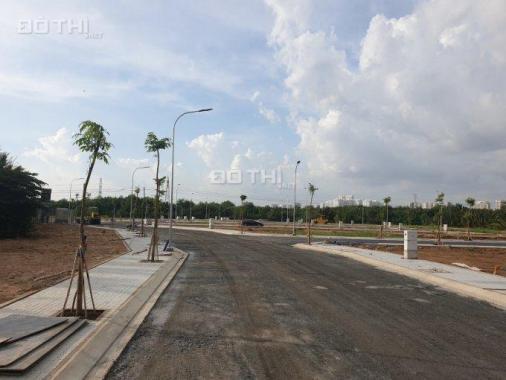 Bán gấp đất MT Vườn Lài dự án ven sông SG, DT 80m2, giá CĐT 800 tr/nền sổ riêng từng nền