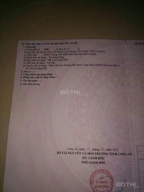 Bán đất sổ đỏ 2 mặt tiền hẻm tại Cần Giuộc - Long An. LH 090.13.23.176 Thùy
