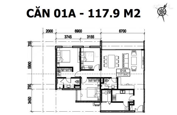 Ký HĐMB trực tiếp căn đẹp nhất dự án 95m2 - 3PN tầng đẹp. View Đông Nam. Lh 0336.991.888