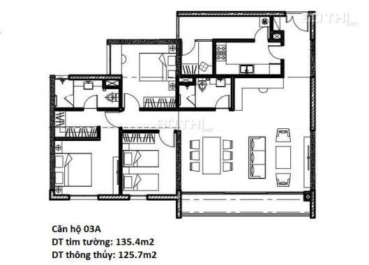 Chính chủ cần bán căn 3A chung cư E2 Chelsea Trần Kim Xuyến - Cầu Giấy