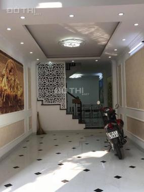 Bán nhà Hoàng Mai 45m2, 5 tầng, view đẹp, ở luôn, ba bước ra đường ô tô