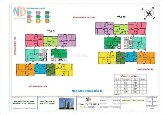 Duy nhất 1 căn 61.58m2 dự án Ban Cơ Yếu chủ nhà cần bán gấp giá gốc chỉ 22 tr/m2