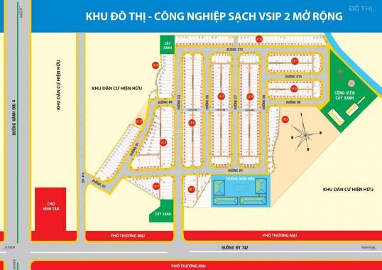 Khu nhà ở Vĩnh Tân, hân hạnh chào đón quý KH tái đầu tư giá chỉ 690tr/nền. Hotline 0969 90 50 47