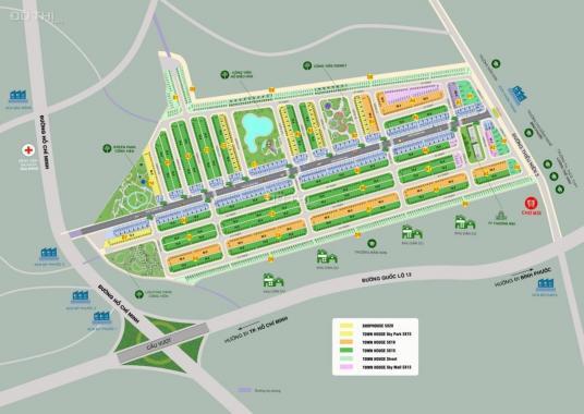 Độc quyền giữ chỗ lô góc 2 mặt tiền đường lớn nhất 20m DA Phúc An Garden chỉ 30 tr/nền, 0903019576