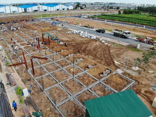 Bán đất dự án mới, gần chợ Tân Phước Khánh, sổ đỏ