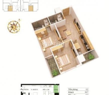 Bán căn góc hoa hậu 3 PN, 110m2 tại chung cư 62 Nguyễn Huy Tưởng tầng đẹp, view đẹp giá cực rẻ