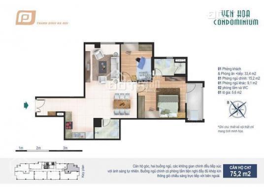 Chung cư Condominium - vị trí vàng, sinh ngàn lợi ích, giá chỉ 25 tr/m2. LH: 0833323663