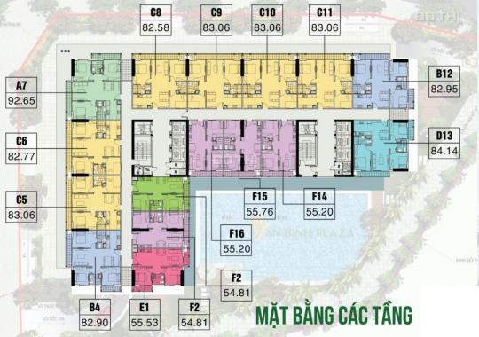Cần bán căn hộ chung cư 55m2 (2PN) đẹp nhất tại dự án An Bình Plaza. LH Mr Lượng 0858655268