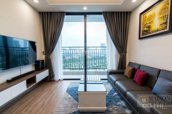 Cần cho thuê căn hộ Handi Resco Lê Văn Lương, DT 100m2, 3PN, full nội thất, giá 16 tr/th