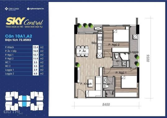 Căn hộ Sky Central giá gốc CĐT - Suất ngoại giao - Chuyển nhượng - Bảng giá tốt nhất - 0964699044