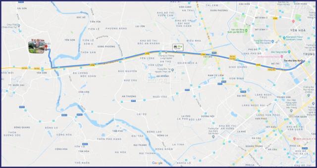 Cần bán gấp lô đất, 34m2, gần Đê Phượng Cách, Di chuyển đến Big C 15km, Sổ đỏ chính chủ