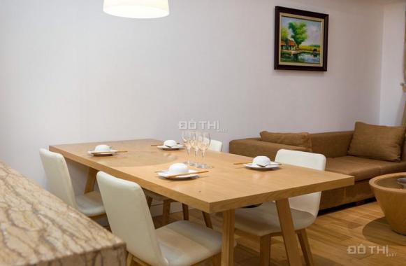 Cho thuê căn hộ 2 PN Mipec Tây Sơn, DT 125m2, 2PN, nội thất đầy đủ, view hướng mát, giá 15 tr/th