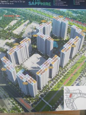 Bán căn hộ CC tại dự án Vinhomes Smart City Đại Mỗ, Nam Từ Liêm, Hà Nội diện tích 32m2, giá 850tr