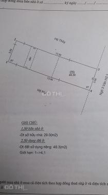 Bán nhà riêng tại Phường Đống Mác, Hai Bà Trưng, Hà Nội, diện tích 50m2