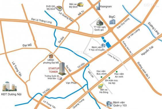 Bán căn góc 3 PN chung cư Startup Đại Mỗ, Nam Từ Liêm