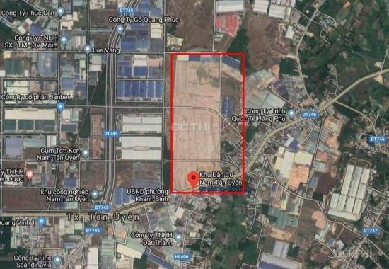 Cityland Bình Dương, đường DT 746, xã Khánh Bình, Tân Uyên, Bình Dương chỉ 14 tr/m2, Lh: 0971802828