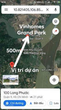 Dự án Dream City mặt tiền Long Phước, Quận 9 nóng hổi vừa có sổ giá F0. LH 093.4748.669
