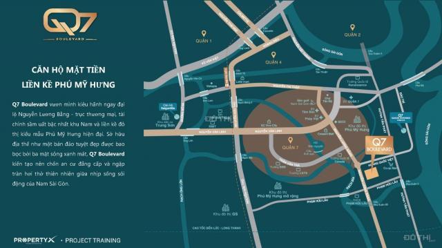 Cơ hội sở hữu căn hộ Nguyễn Lương Bằng, ngay Phú Mỹ Hưng chỉ từ 2 tỷ, LH: 0933118501